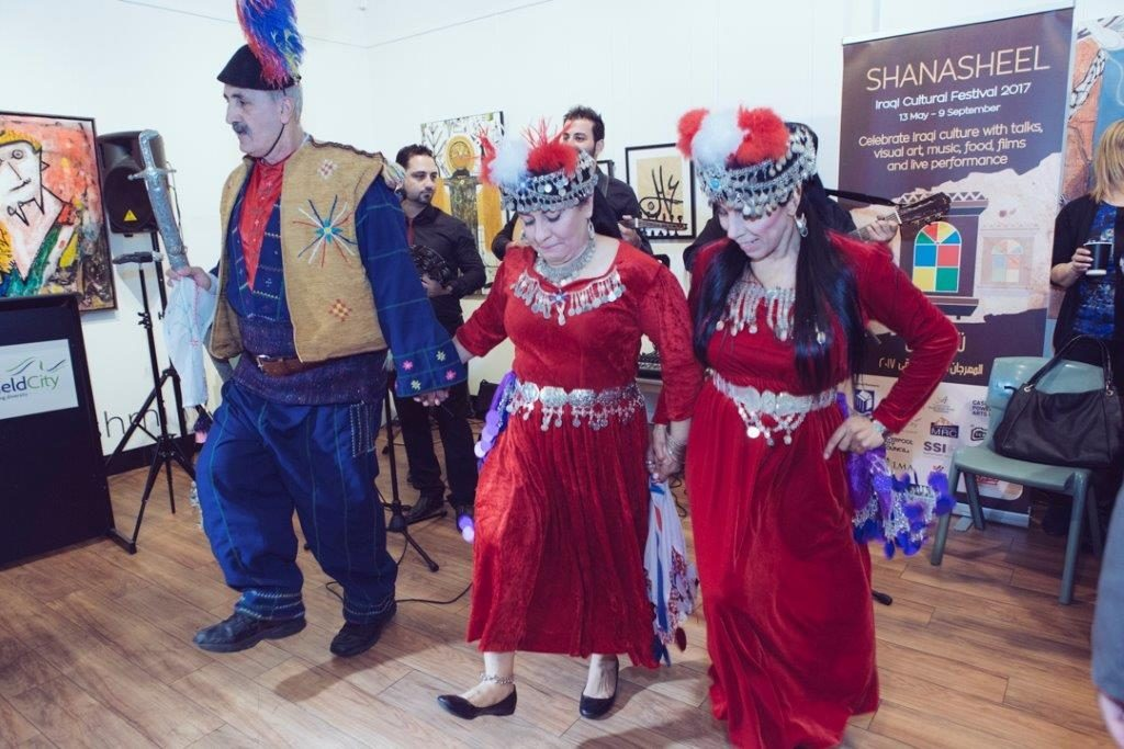 Shanasheel Exhibition Opening and Iraqi Cultural Festival at Fairfield City Museum and Gallery. Image Copyright – Fairfield City Museum and Gallery.