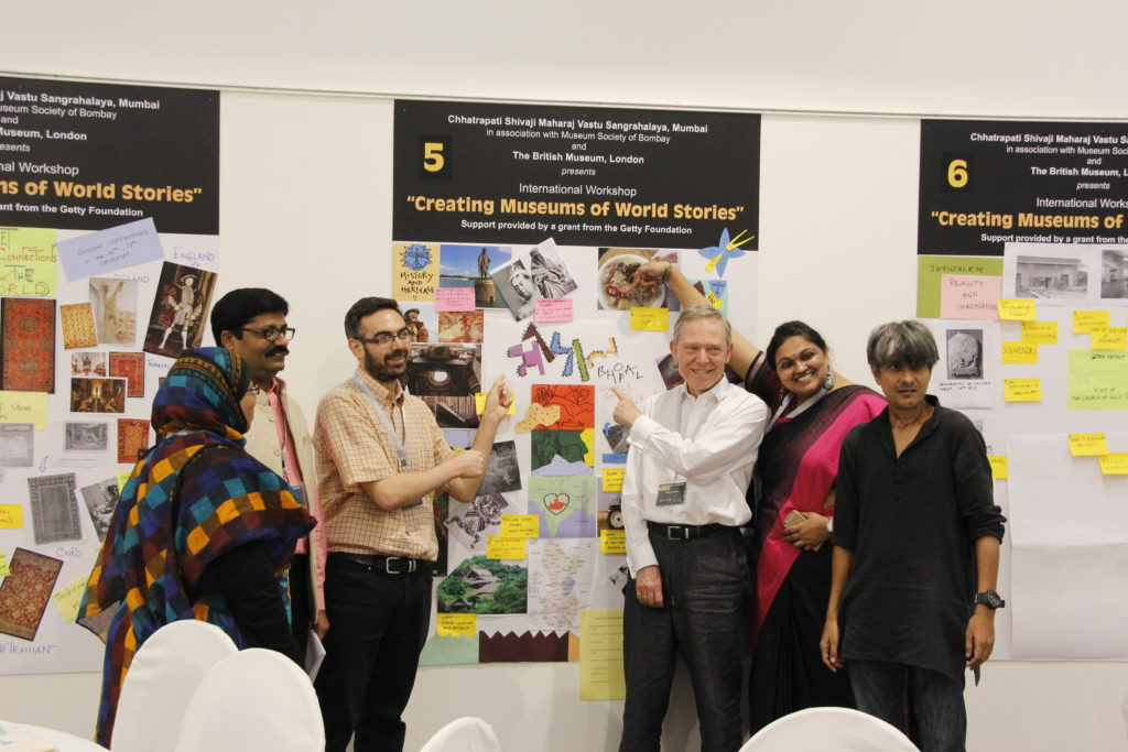 Workshop 'Creating museums of world stories' ©CSMVS, Mumbai