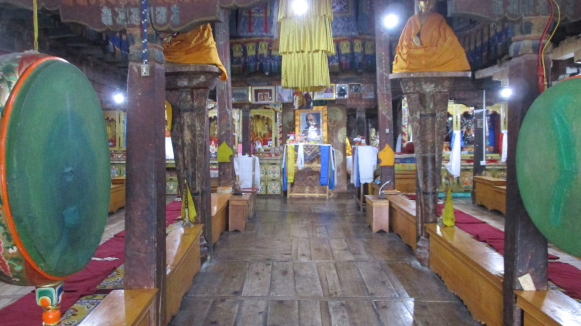 Sensory Encounters in Monasteries in Ladakh