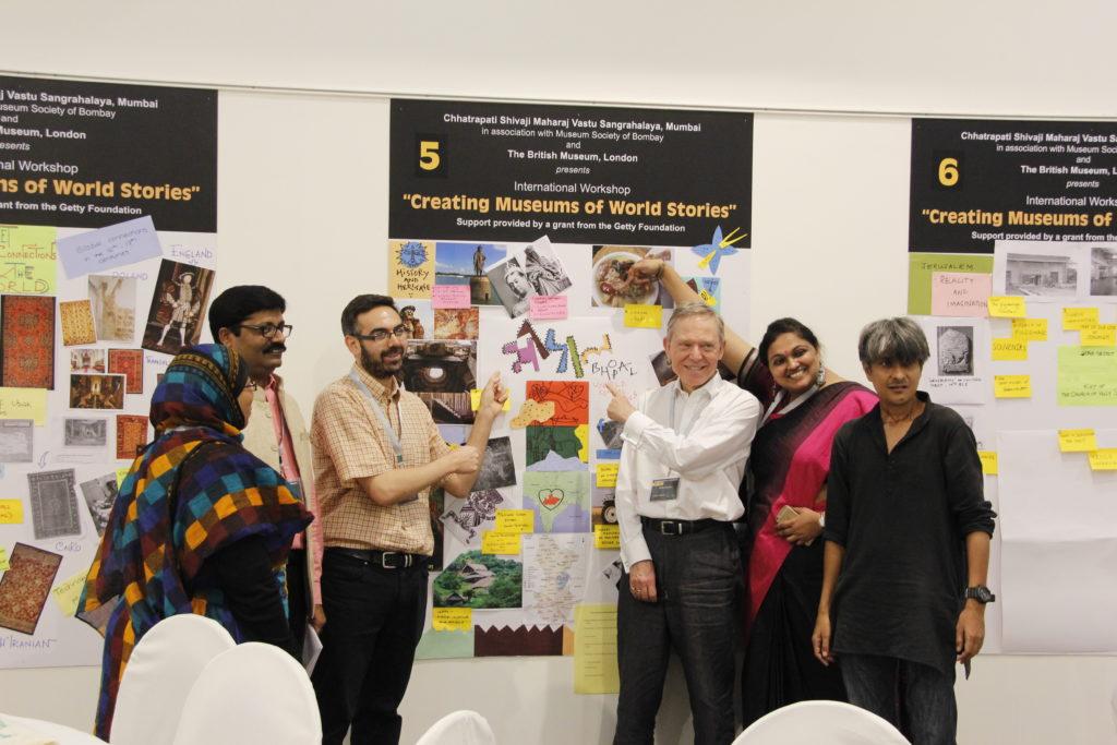 Workshop 'Creating museums of world stories' ©CSMVS, Mumbai