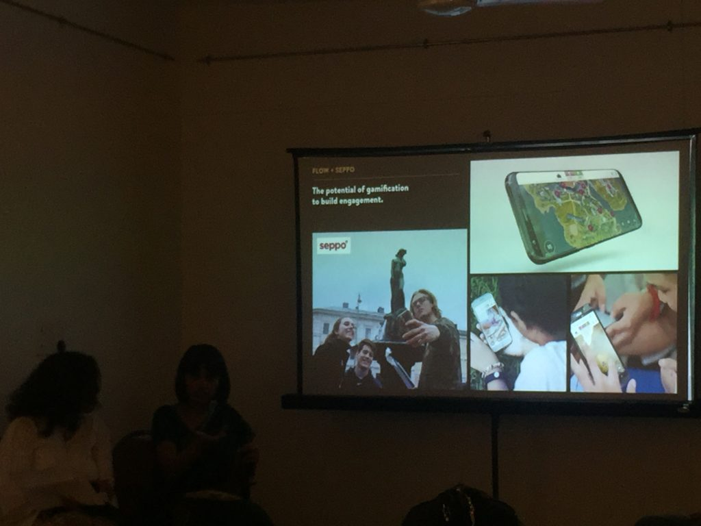 Arundhati Mitter discusses the possibilities of interactive online spaces via gamification. Pic Credit: Sania Galundia