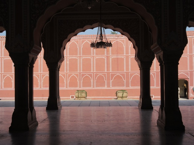 Detail of City Palace Museum, Jaipur (photo by Alexandra Woodall)